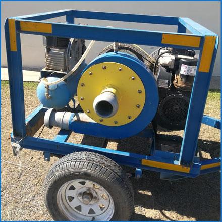 Used 4 Inch Gold / Diamond Dredge Pump